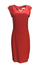 Joseph Ribkoff Red Dress - Product Mini Image