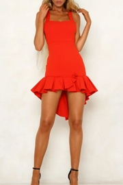 Selfie Leslie Red Dress - Product Mini Image