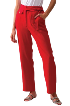 Alison Sheri Red Easy Pant - Product List Image