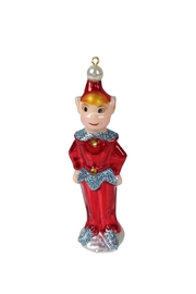 GHome2 Red Elf Ornament - Front cropped