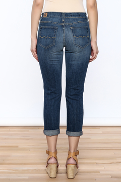 Red Engine Denim Boyfriend Jeans - Alternate List Image