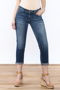 Red Engine Denim Boyfriend Jeans - Product List Image