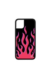 Wildflower Cases Red Flames iPhone 11 Case - Front cropped