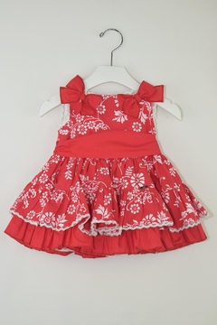 Dolce Petit Red Floral Dress - Product List Image