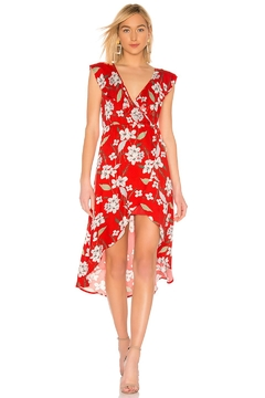 Jack by BB Dakota Red Floral Dress - Product List Image