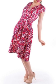 Mata Traders Red Floral Dress - Product Mini Image