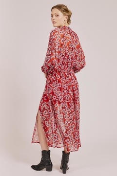 Goldie Red Floral Maxi - Alternate List Image