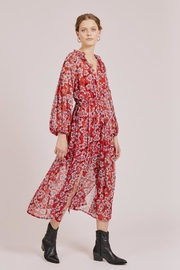 Goldie Red Floral Maxi - Product Mini Image