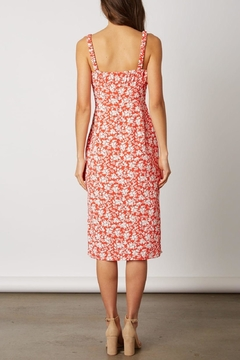 Lush Clothing  Red Floral Midi-Dress - Alternate List Image