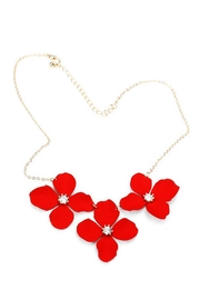 Wild Lilies Jewelry  Red Flower Necklace - Product Mini Image
