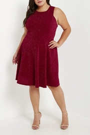 MaiTai Red Glitter Dress - Product Mini Image