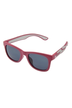 Shoptiques Product: Red & Grey Sunglasses