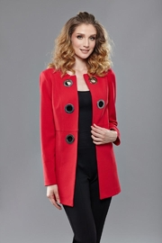 INSIGHT NYC Red Grommet Jacket - Product Mini Image