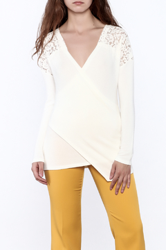 Shoptiques Product: Lace Crossover Sweater