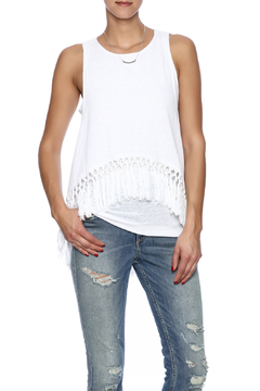 Red Haute Layered Fringe Tank - Product List Image