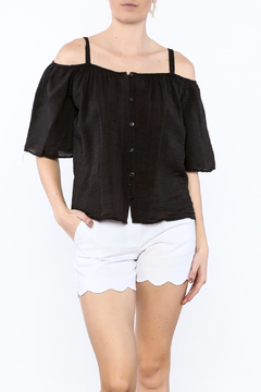 Red Haute Black Loose Top - Product List Image