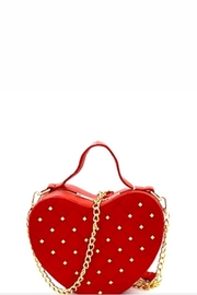 Love Trove Red Heart Purse - Product Mini Image