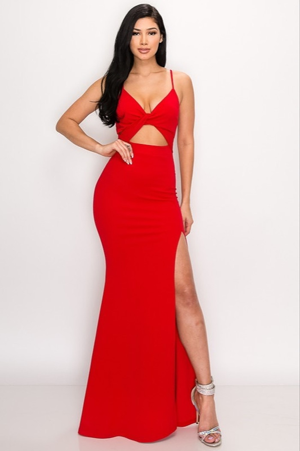 privy Red Hot Gown - Main Image