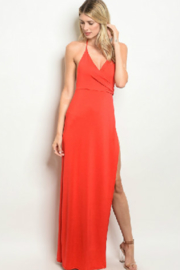K too Red Hot Maxi - Front cropped
