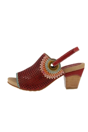 Spring Footwear Red Hot Pump - Product Mini Image