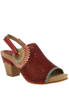 Spring Footwear Red Hot Pump - Product List Image