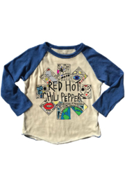 Rowdy Sprout Red Hot Raglan - Front cropped