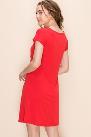 Double Zero Red Hot Summer Dress - Front full body