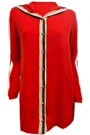 Maryley Red Jacket Tunic - Product Mini Image