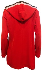 Maryley Red Jacket Tunic - Front full body