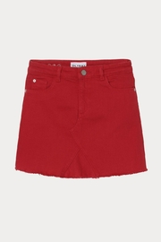 DL 1961 Red Jenny Skirt - Front cropped