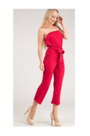 Polly & Esther Red Jumpsuit - Product Mini Image