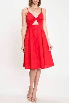 Shoptiques Product: Red Knot Dress