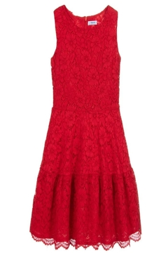 Mayoral Red Lace Dress - Alternate List Image