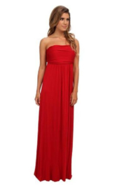 Culture Phit Red Liliana Maxi - Side cropped