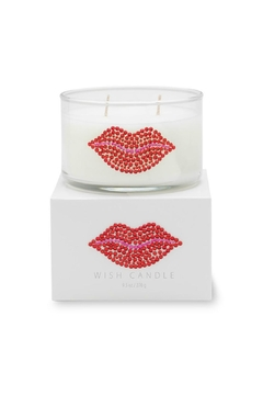 Shoptiques Product: Red Lips Candle