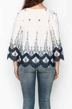 Red Lolly Kelsey Embroidered Lace Top - Alternate List Image