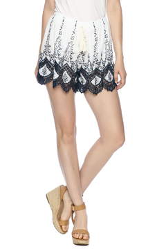 Shoptiques Product: Embroidered Short