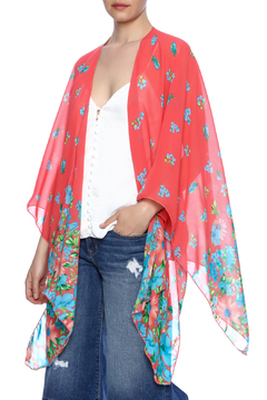 Red Lolly Multicolor Kimono - Product List Image