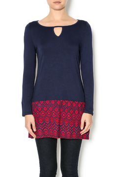 Shoptiques Product: Navy Blue Tunic