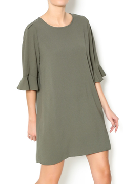 Shoptiques Product: Olive Green Shift Dress
