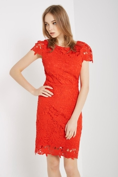 Soprano Red Love Dress - Product List Image