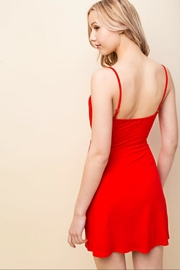Honey Punch Red Mini Dress - Front full body