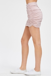 Emory Park Red Mini Skirt - Front full body