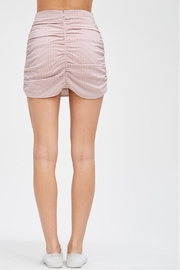Emory Park Red Mini Skirt - Side cropped