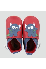 Bobux Red-Monster Soft-Sole Shoes - Product Mini Image