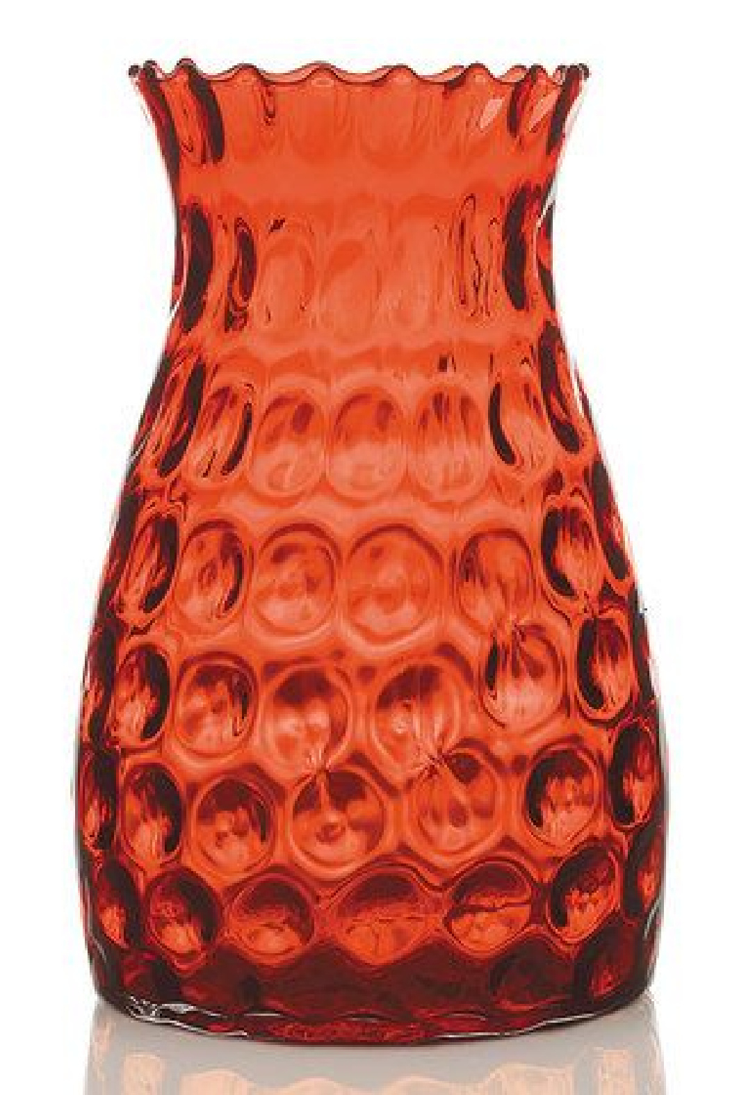 The Birch Tree Red Numi Vase Large - Main Image