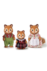 Calico Critters Red Panda Family - Front cropped