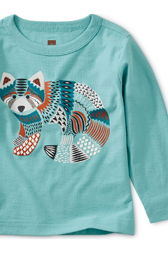 Tea Collection Red Panda Graphic Baby Tee - Alternate List Image