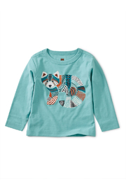 Tea Collection Red Panda Graphic Baby Tee - Front cropped