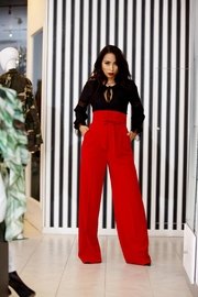 MODChic Couture Red Pants - Product Mini Image